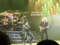 Roger Taylor, Brian May & Adam Lambert London show, 12th July 2012 | Source: Melissa for @AdamLambertBE