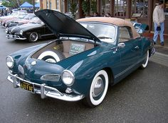 1963 VW Karmann Ghia convertible in Sea Blue Volkswagen Type 3, Volkswagen Karmann Ghia, Retro Cars, Vintage Cars, Karmann Ghia Convertible, 4x4, Porsche 914, Vw Cars, Dream Cars