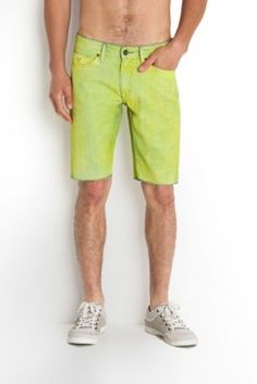 The Festival Collection - Lincoln Denim Shorts in Humid Wash