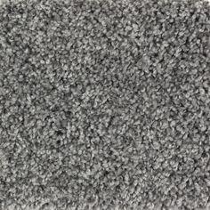 Mohawk Essentials Cornerstone Magnetic Grey Textured Indoor Carpet