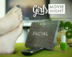 The only thing more interesting than the film is what's happening to your face!  Tighten, tone, and firm with It Works! Facial Applicators.  It Works With Christina www.christinagriffiths.itworks.com