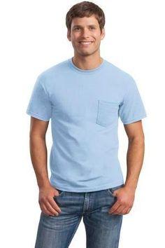 Gildan - Ultra Cotton 100% Cotton T-Shirt with Pocket.  2300 #tshirt #mensclothing