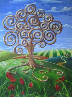 Tree Of Life Artwork | Tree Of Life Painting by Christine Rotolo - Tree Of Life Fine Art ...