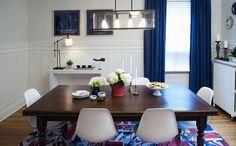 Sala de Jantar   Property Brothers - Buyinbg & Selling  - Season 3 - Krystal e Cam