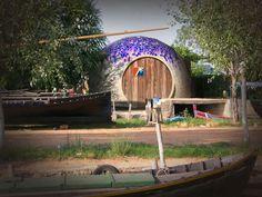 Domo de trencadis como alojamiento turístico, glamping en la Comunidad Valenciana