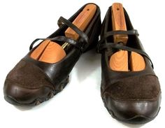 Skechers Shoes Womens Size 10 M Brown Leather Active Loafers #SKECHERS #LoafersMoccasins