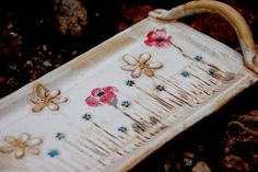 Hand Built Pottery, Food Trays, Decoupage, Decorative Plates, Soap, Pottery Ideas, Platter, Tableware, Design