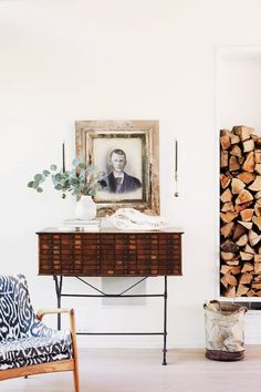 8 Experts Reveal Their No. 1 Way to Transform a Room via @mydomaine - ADD VINTAGE FURNISHINGS AND ANTIQUES (=)