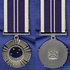 The Southern Cross Medal of post-nominal letters SM, is a… Military Ranks, Military Insignia, Military Medals And Ribbons, Military Decorations, War Medals, Grand Cross, Olympic Medals, Service Awards, Defence Force