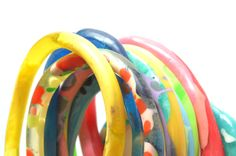 Flock Curiosity Assembly - Handmade Statement Resin Bangles. Contemporary one of a kind jewellery, made in Melbourne