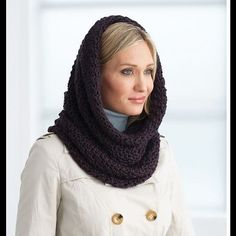 Hooded cowl Versatile cowl, wear it chunky or hooded. Any color Accessories