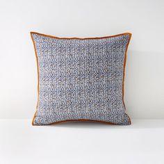 Federa per cuscino voile di cotone trapuntata Amone