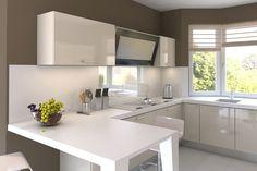 Apartment Kitchen Interior Design Ideas To Take As Example (2)
