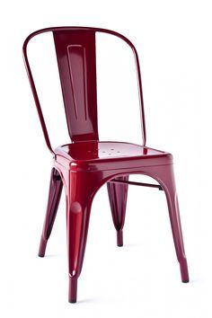 Marais A Side Chair Burgundy / Industry West