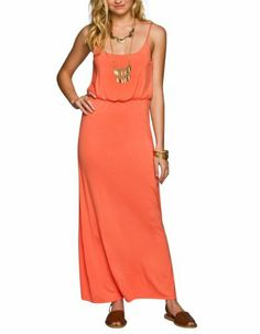 FULL TILT Basic Cinch Waist Maxi Dress Full Tilt,http://www.amazon.com/dp/B00J0BG2FW/ref=cm_sw_r_pi_dp_8Zjttb12YW14X3DD