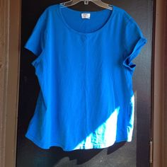 Blue tshirt Great for working out Danskin Tops Tees - Short Sleeve