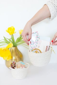 How To Make Rope Easter Baskets   eHow