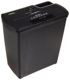 New 8 Sheet Strip Cross Cut Paper CD Credit Card Shredder with Basket Heavy Duty | eBay