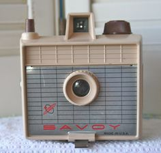 Vintage Savoy Camera in Tan FREE DOMESTIC SHIPPING by dulcinas, $50.00