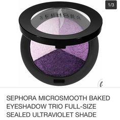 Microsmooth Baked Eyeshadow Trio Ultraviolet New