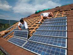 photovoltaic clay roof tiles - Google Search