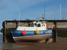 Fishing boat Whitstable Kent [shared]