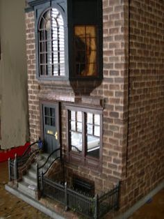 Brownstone  in miniature