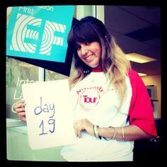 Hi! I'm Lucrecia from Argentina, I've just become an EF Ambassador. #EFRoadshowUSA Day 19