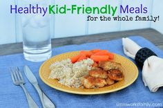 Healthy kid-friendly meals and #recipes for the whole family - homemade chicken nuggets, mac & cheese, and more!