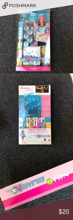 New in box *NSYNC Barbie Doll Brand new in box. Great condition. Theresa Barbie doll comes with a cd  and collectors cards. Barbie Other