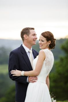 Beautiful bride and groom: http://www.stylemepretty.com/australia-weddings/queensland-au/2015/05/26/rustic-elegant-australian-wedding/ | Photography: Jennifer Oliphant - http://www.jenniferoliphant.com/