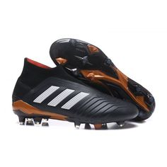 size 40 aa68f dea6a Adidas Kids Predator 18+ FG Football Boots - Core BlackWhiteSolar Red