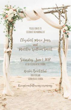 Wedding Rustic Chalkboard Chandelier 50 Invitations/RSVP Cards | ajinvites - Wedding on ArtFire