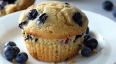 Le plus moelleux des muffins bluberry muffin