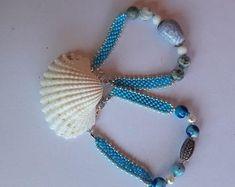 ReMIdea su Etsy Beaded Necklace, Beaded Bracelets, Etsy, Jewelry, Beaded Collar, Jewlery, Pearl Necklace, Jewels, Beaded Necklaces