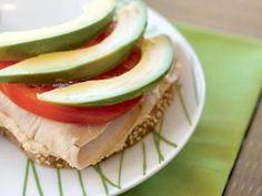 Tomato, Turkey, And Avocado Open-Faced Sandwich http://www.prevention.com/food/healthy-recipes/farmers-market-recipe-finder-avocados/tomato-turkey-and-avocado-open-faced-sandwich