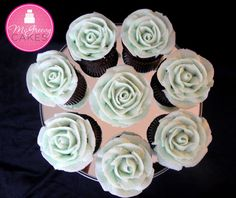 How to make a Buttercream Rose on a Cupcake; A McGreevy Cakes Tutorial