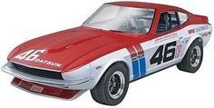 TECH NOTES This is the 1/25 Scale BRE Datsun 240Z Plastic Model Kit by Revell…
