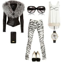 Designer Clothes, Shoes & Bags for Women Black And White, Shoe Bag, Polyvore, Stuff To Buy, Shopping, Collection, Design, Women, Fashion