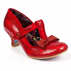 Irregular Choice Red Lazy River PRE ORDER