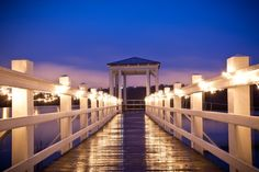 I would like lights on The dock at Creek Club at I'On