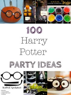 100 + Harry Potter Halloween Party Ideas ~ The Dragons Fairy Tail