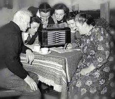 """""""The Golden Age Of Radio"""" lasted in the United States from the early 1920's until television became the primary home entertainment in the 1950's. Almost everyone had a favorite radio program they waited for each day.  In fact, in a 1947 (C. E. Hooper) survey, 82 out of 100 Americans were  radio listeners."""