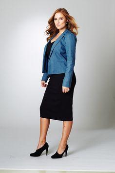 Belle bird Belle Denim Jacket - Womens Jackets at Birdsnest Women's Clothing