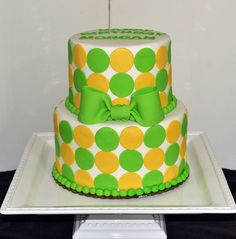 Polka Dot Birthday Cake by Simply Sweet Creations Polka Dot Birthday, Polka Dot Party, Polka Dots, Cake Stuff, Center Pieces, Cooking Time, Birthday Cakes, Cake Ideas, Sweet