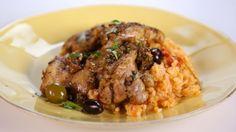 Marcela Valladolid's Baja Style Braised Chicken  Thighs