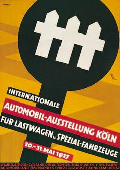 IAA Plakat 1927