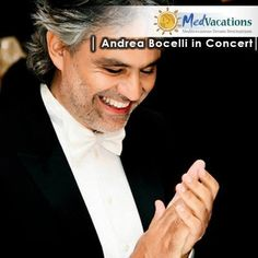 An opportunity like this only comes once in a lifetime! See THE Andrea Bocelli live in concert at Lajatico! Different packages from various towns in Tuscany available! Contact us on info@medvacations.co.za to book. Once In A Lifetime, Tuscany, Opportunity, Live, Concert, Book, Travel, Viajes, Tuscany Italy