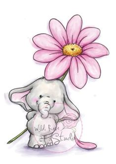 Wild Rose Studio Stamp Bella With Daisy - Google Search