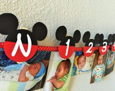Mickey And Minnie Mouse Clubhouse Birthday by sweetheartpartyshop